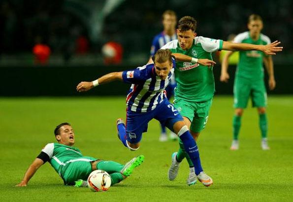 Hasil Bundesliga: Hertha Berlin 1-1 Werder Bremen