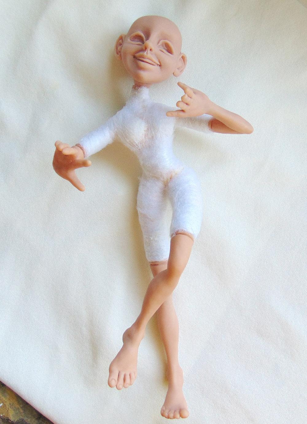 Делаем куклу из полимерной глины своими руками 83