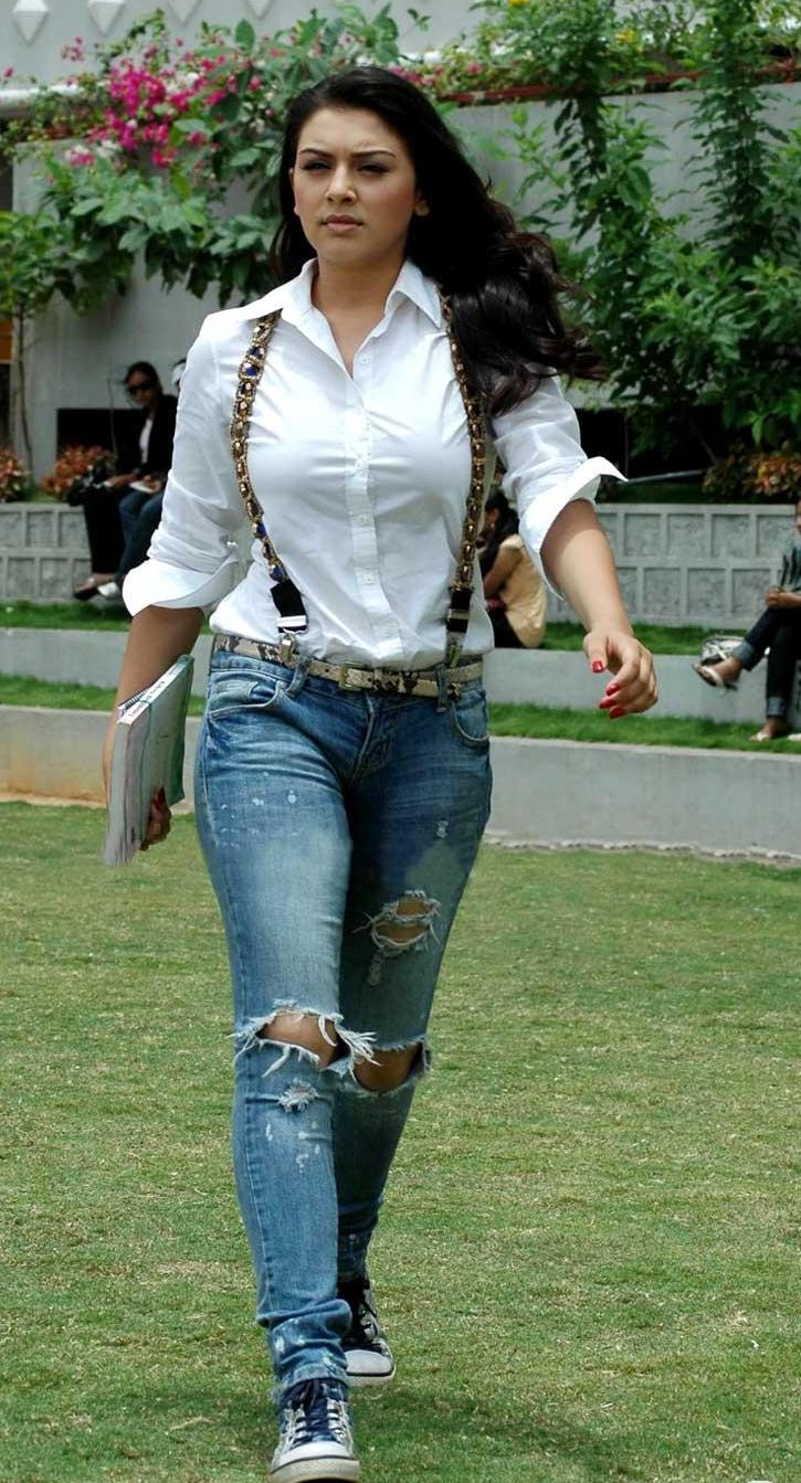 hansika+motwani+HOT+photos+in+jeans