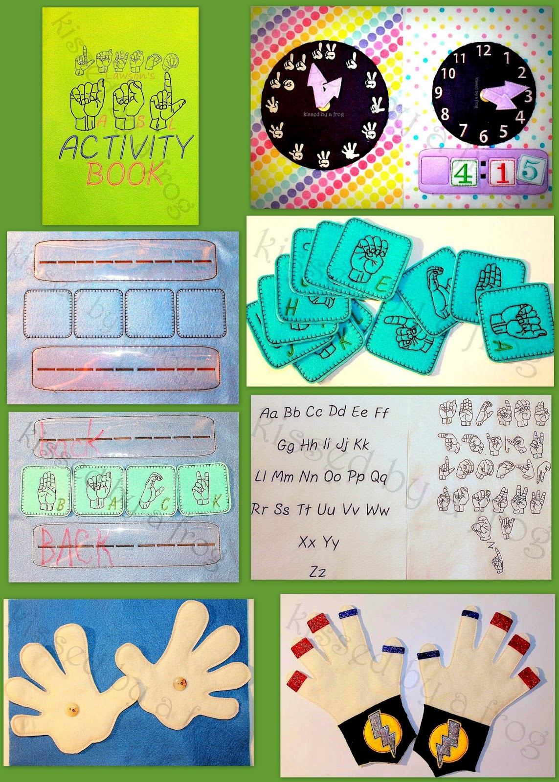 Baby sign language flash cards all done american sign language