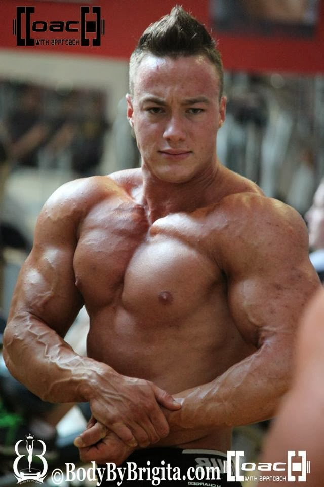 aesthetic muscle, bodybuilder, great abs, Jan Damis, male fitness model, male model, muscle, physique, ripped muscle, vascular muscle,