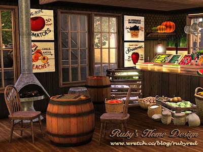 My Sims 3 Blog The Old West The Saloon General Store