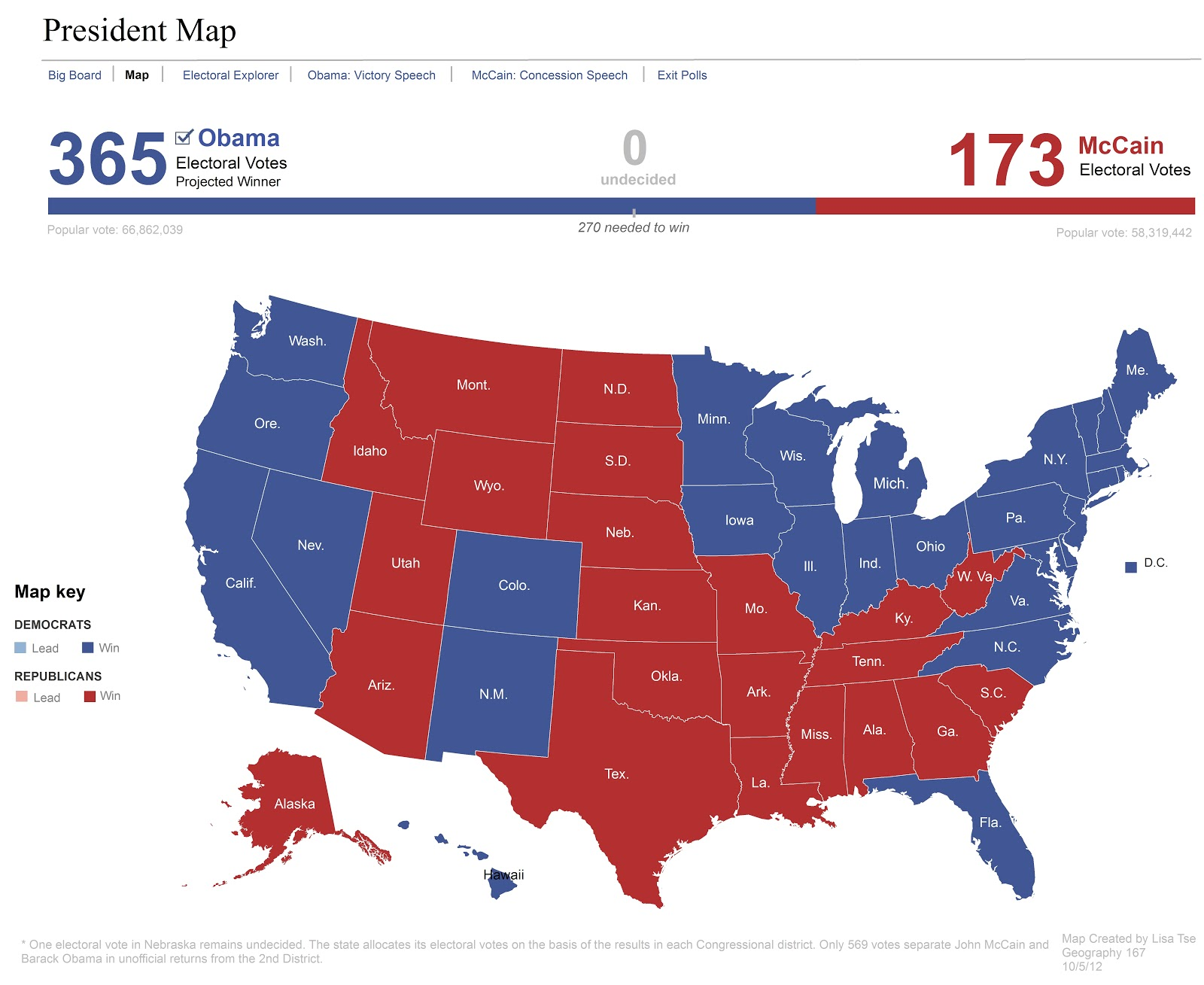 2008 presidential election map replication posted 26th december 2012 by lisa tse