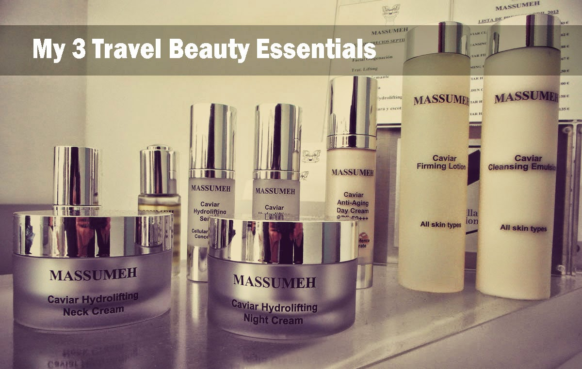 My 3 Travel Beauty Essentials
