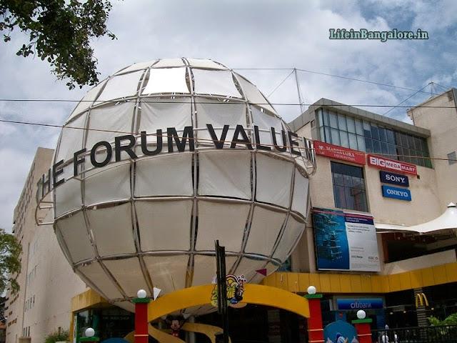 Forum Value mall entry globe
