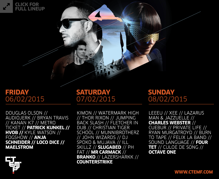 The Cape Town Electronic Music Festival 2015