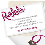 Re-Lilly Invites Fans & Friends to Join Rue La La~ By Private Invitation Only