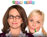 Baby Mama (released in 2008) - A comedy film starring Tina Fey, Amy Poehler, Sigourney Weaver, Greg Kinnear, and Dax Shepard