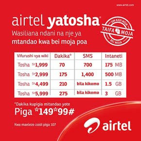 Airtel Yatosha - WEEKLY