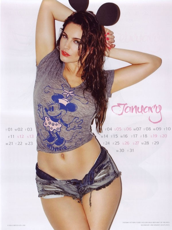 Kelly Brook Calendar Hot Pics Download