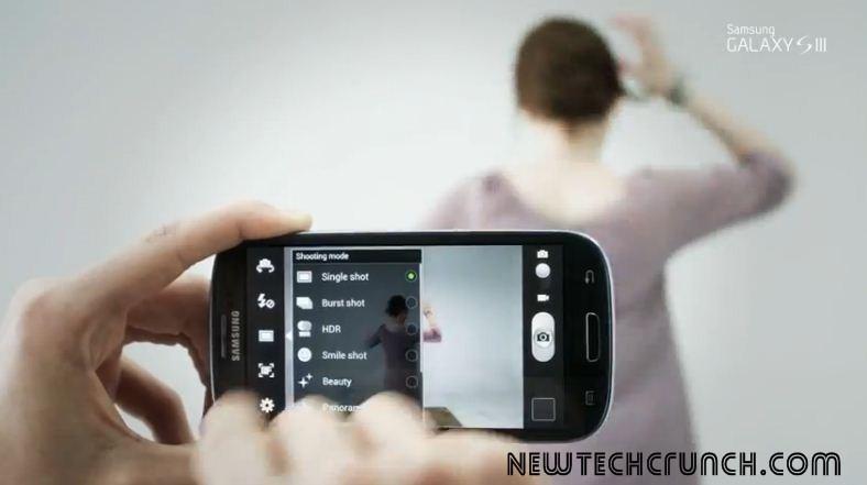Samsung Galaxy s3 camera hd features