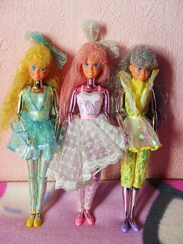 Mattel's 1987 Spectra dolls