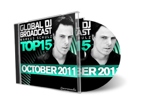 Global DJ Broadcast Top 15 October 2011