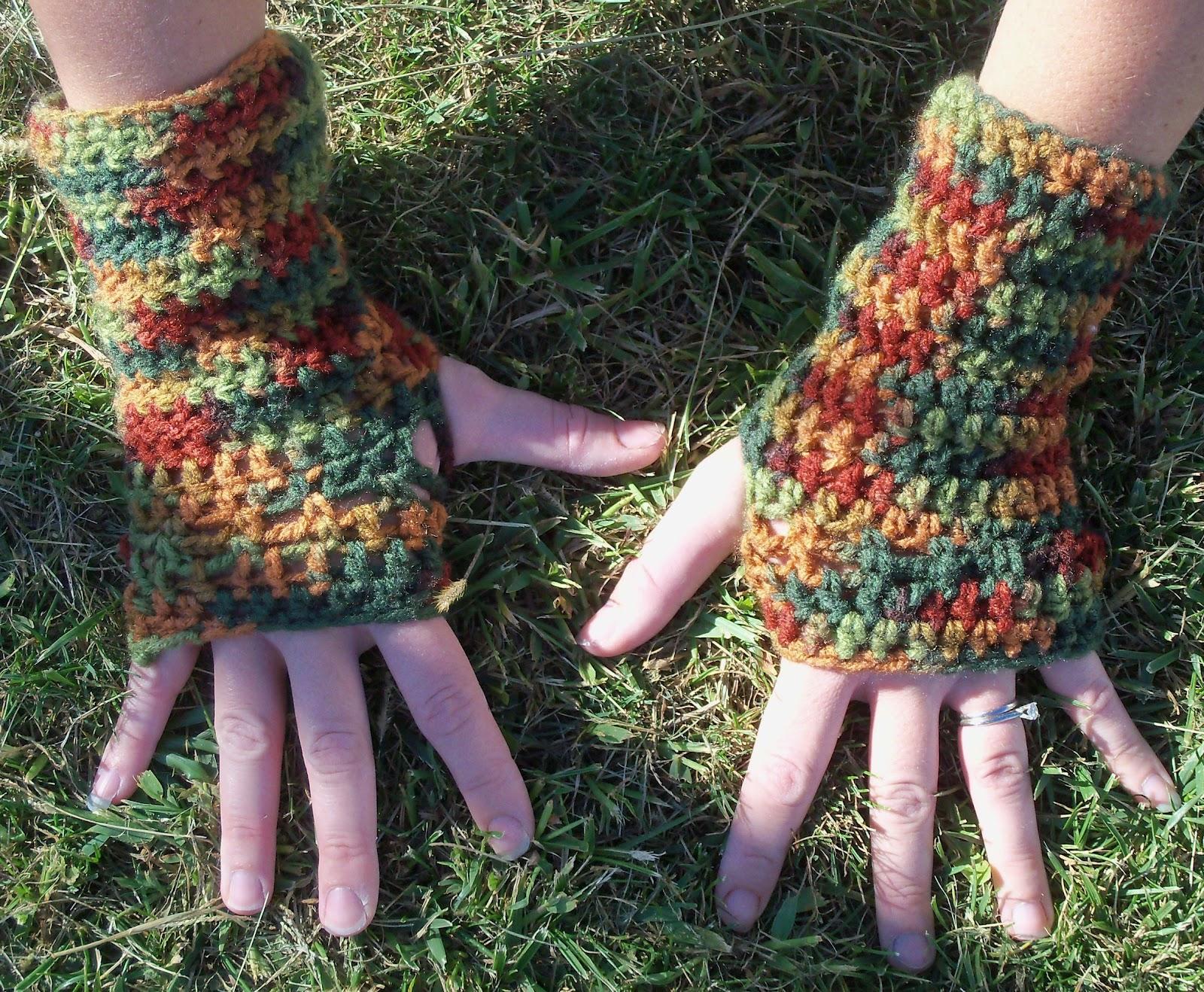 Fingerless gloves crochet pattern for beginners - The Easiest Fingerless Glove Crochet Pattern Ever