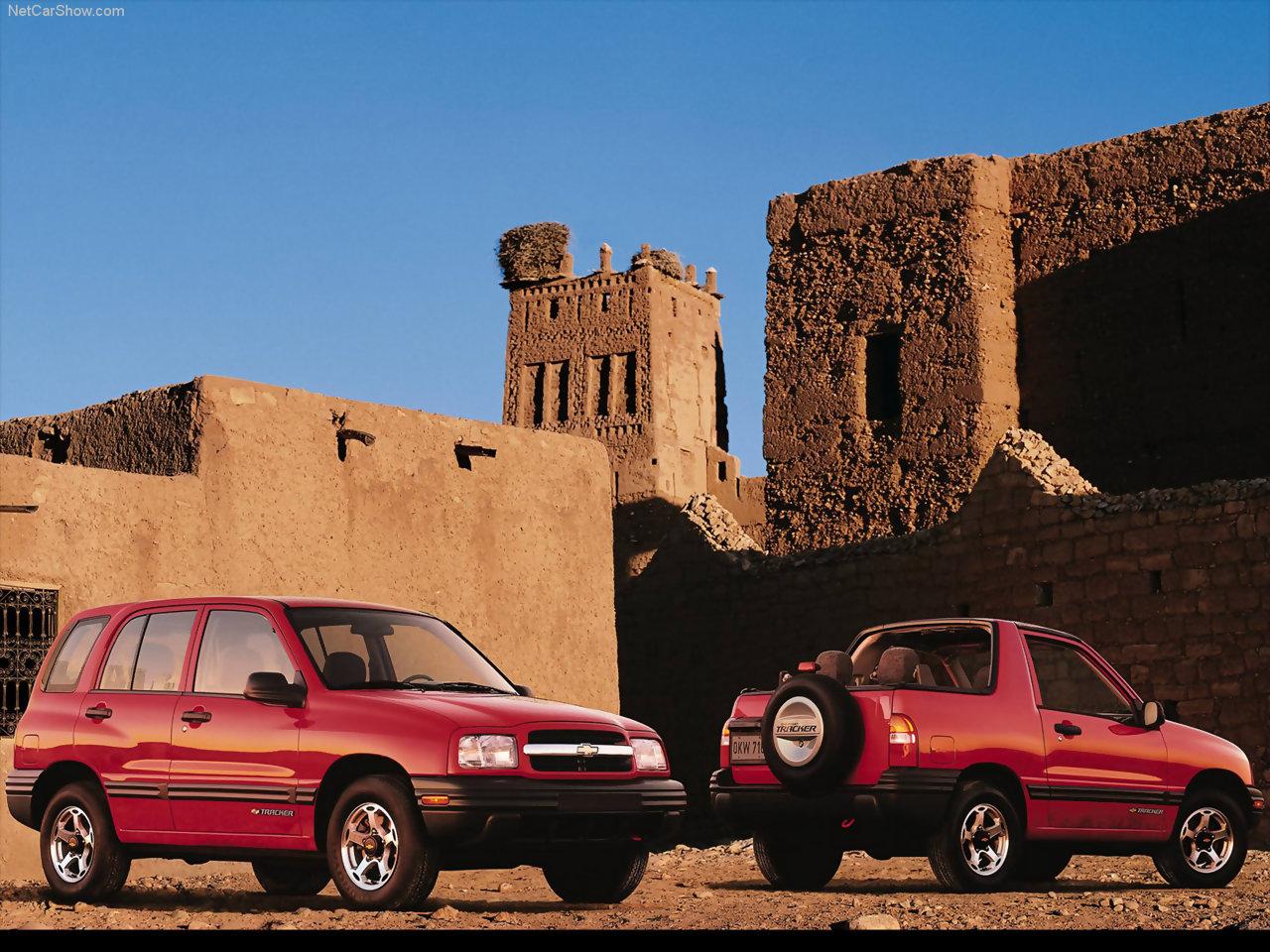 Chevrolet - Populaire français d'automobiles: 2001 Chevrolet Tracker