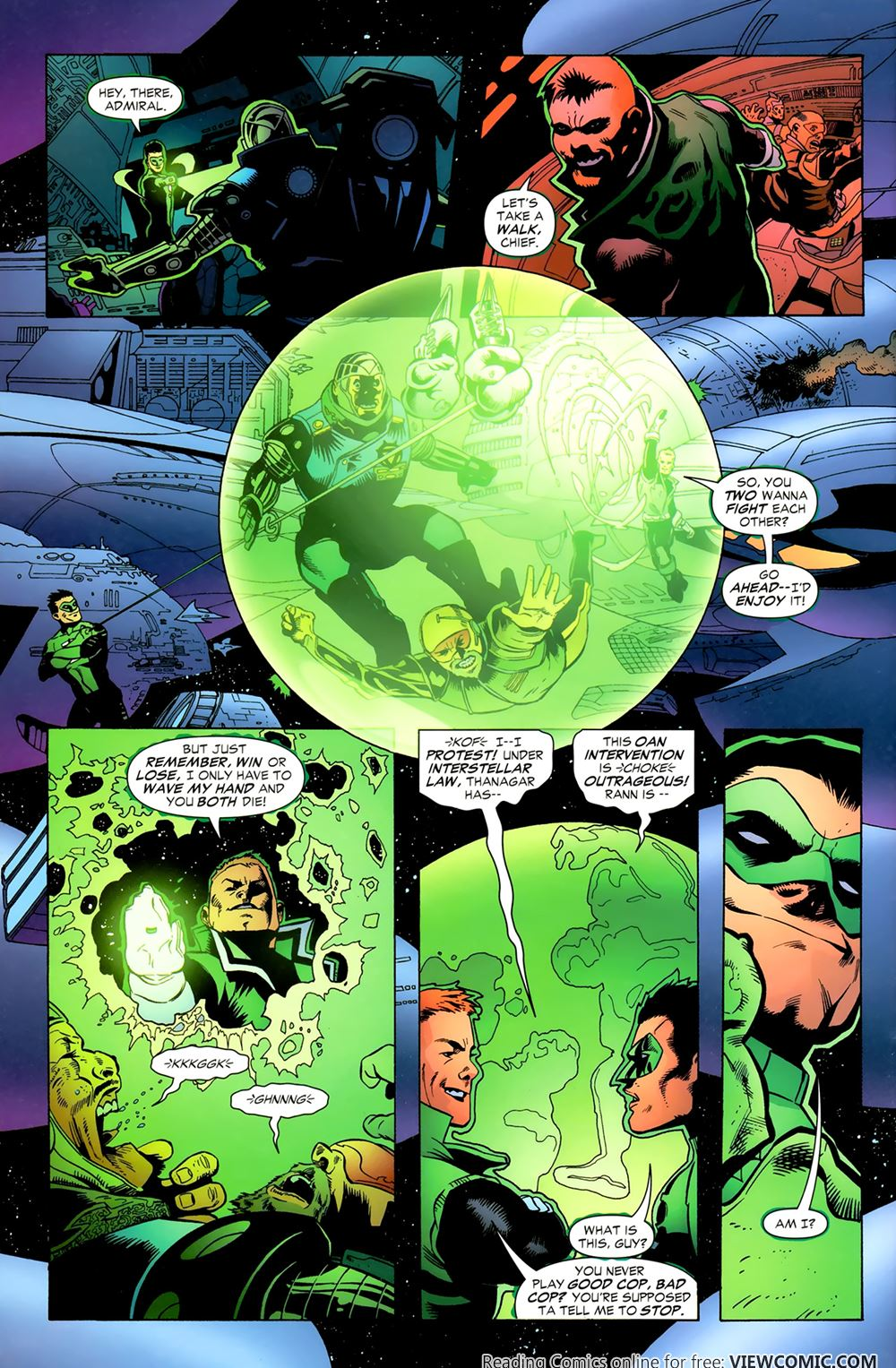 green lantern corps recharge 02 of 5 2005 viewcomic reading