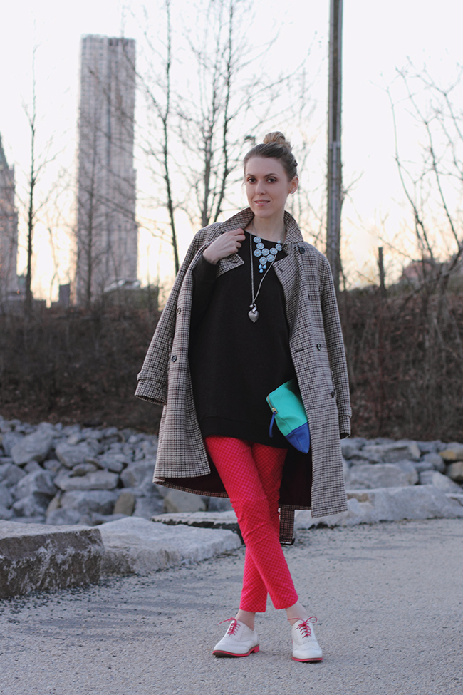 """""""A Wool Trench Coat And Funky Oxfords Kind Of Day"""" Outfit Post on """"The Wind of Inspiration"""" Blog #twoistyle #style #fashion #personalstyle #fashionblog #ootd #outfit"""