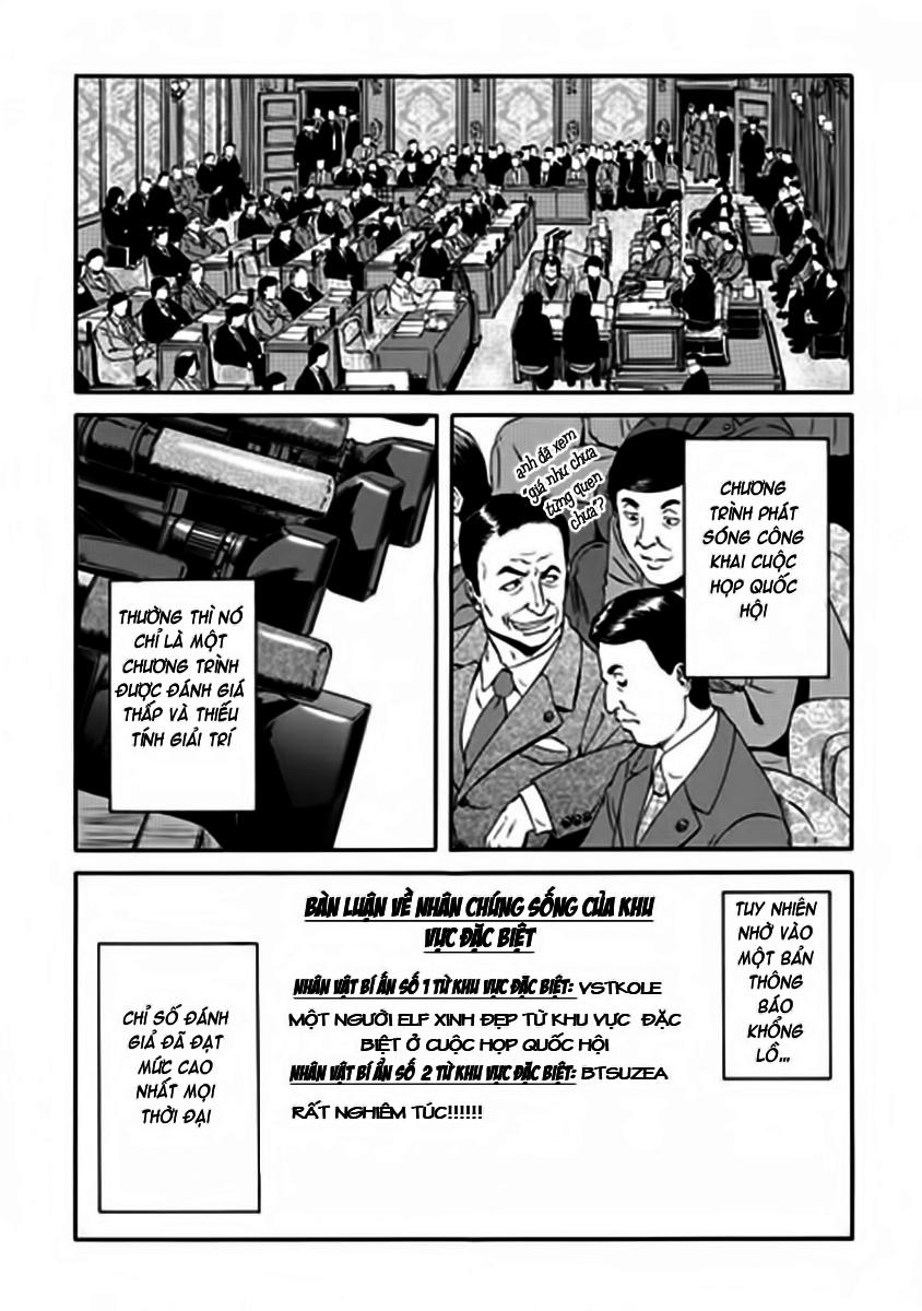Gate – Jietai Kare no Chi nite, Kaku Tatakeri chap 17 Trang 23 - Mangak.info