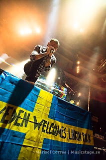 LPIU Tour Guide : Linkin Park in Stockholm, Sweden 2011