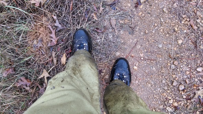 Wet hunting boots