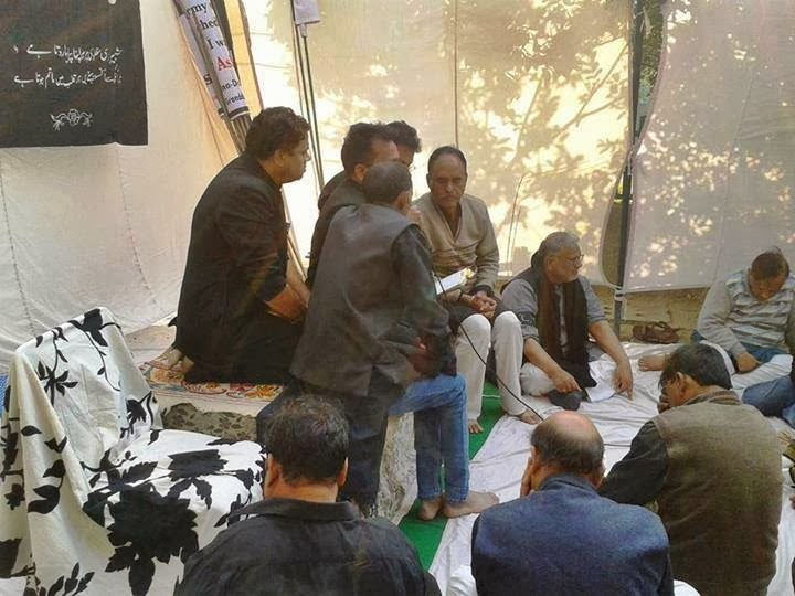 Majlis attended by the Mourners on the Dsay of Ashura