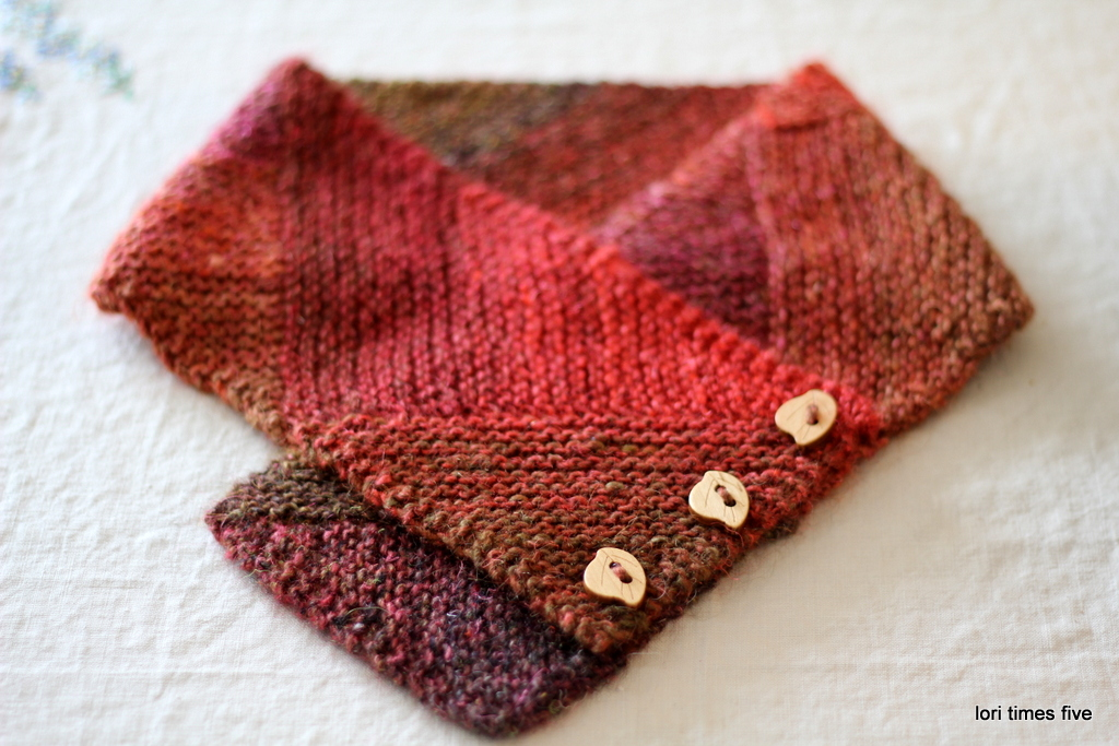 Pattern: Modular Neck Wrap From Knit Noro Accessories Book (found Here)  Yarn: Noro Silk Garden, Color # 84 I Loved Making This, It Was Like  Knitting A ...