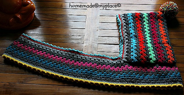Homemademyplace The Harlequin Hoodie
