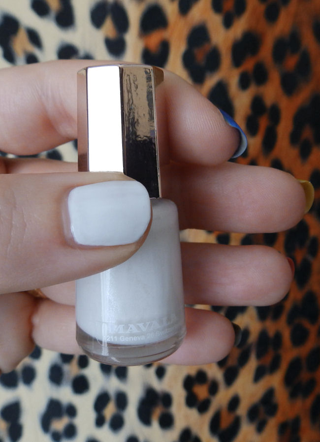 uk style and fashion blog mavala techni-color collection swatches antarctic