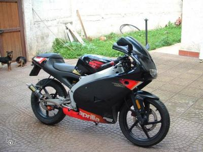aprilia rs 50cc motard. Black Bedroom Furniture Sets. Home Design Ideas