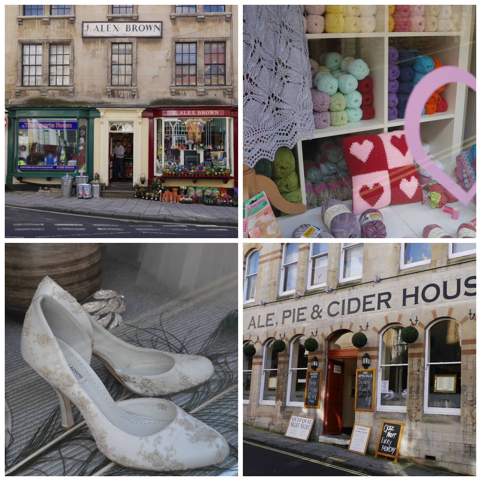 Independent shops, Bradford on Avon