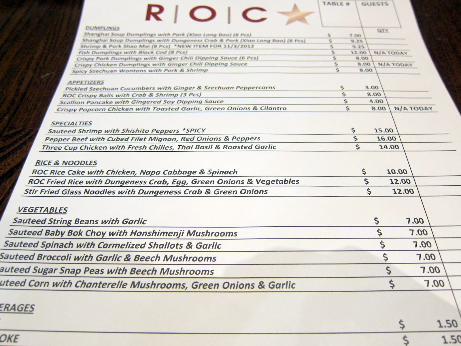 roc kitchen - Roc Kitchen