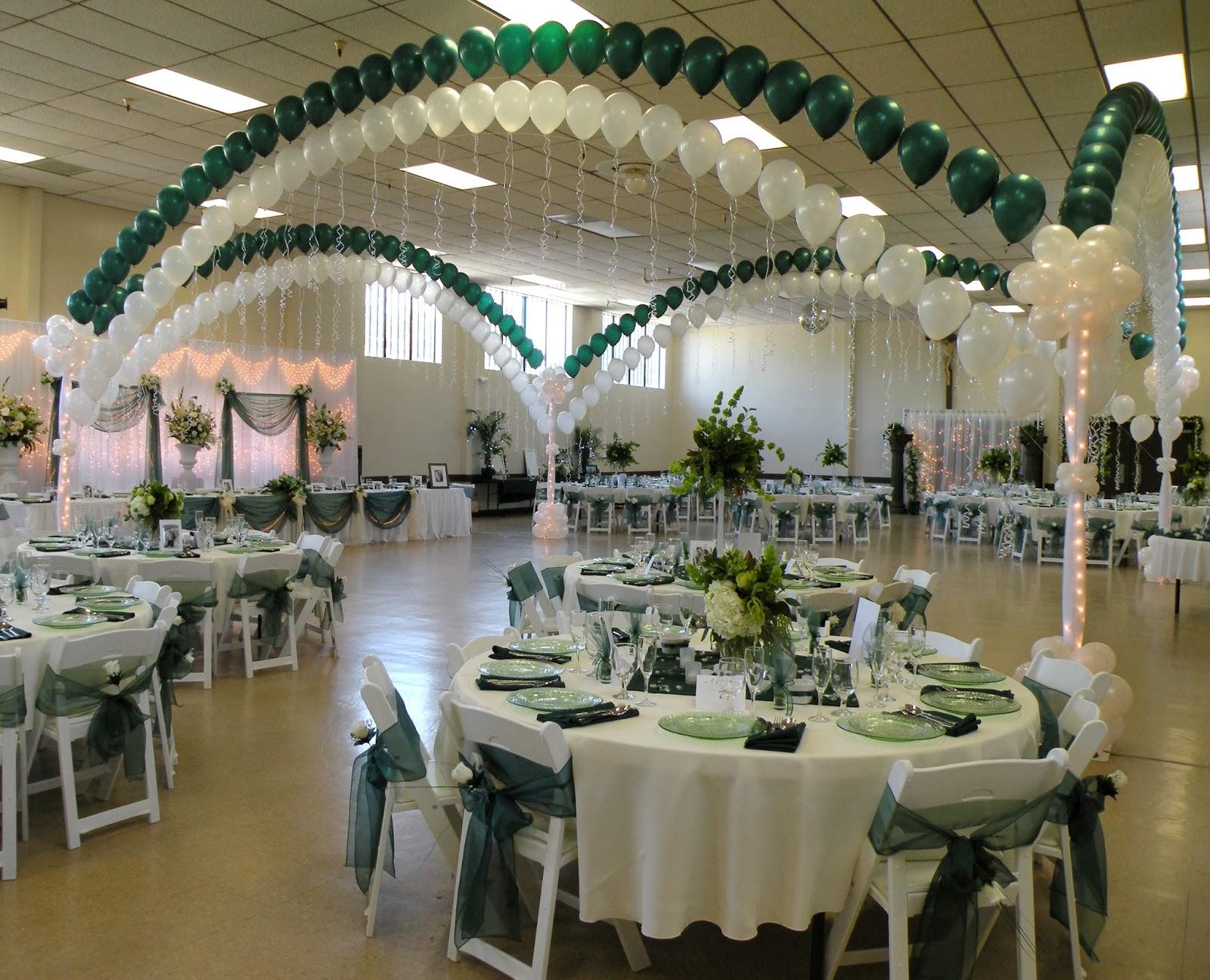 Decoracion de bodas con arcos de globos parte 4 for Decoracion de adornos