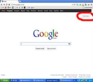google tutorial criar contas