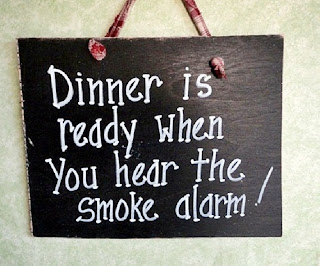 Bad Cooking sign  by kpdreams