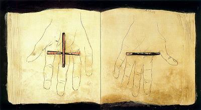 Llibre i mans (Antoni Tàpies)