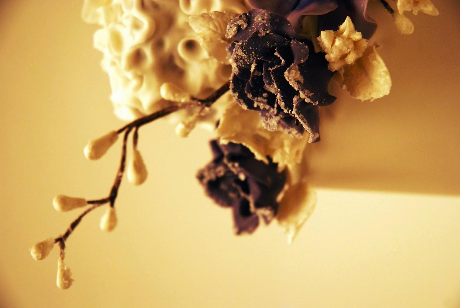 Suikerbloemen zelf maken, how to, floral wire, gumpaste bloemen