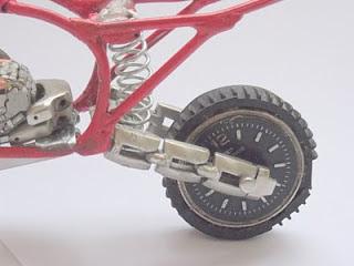 Roda Traseira Motocrossp Presente Criativo