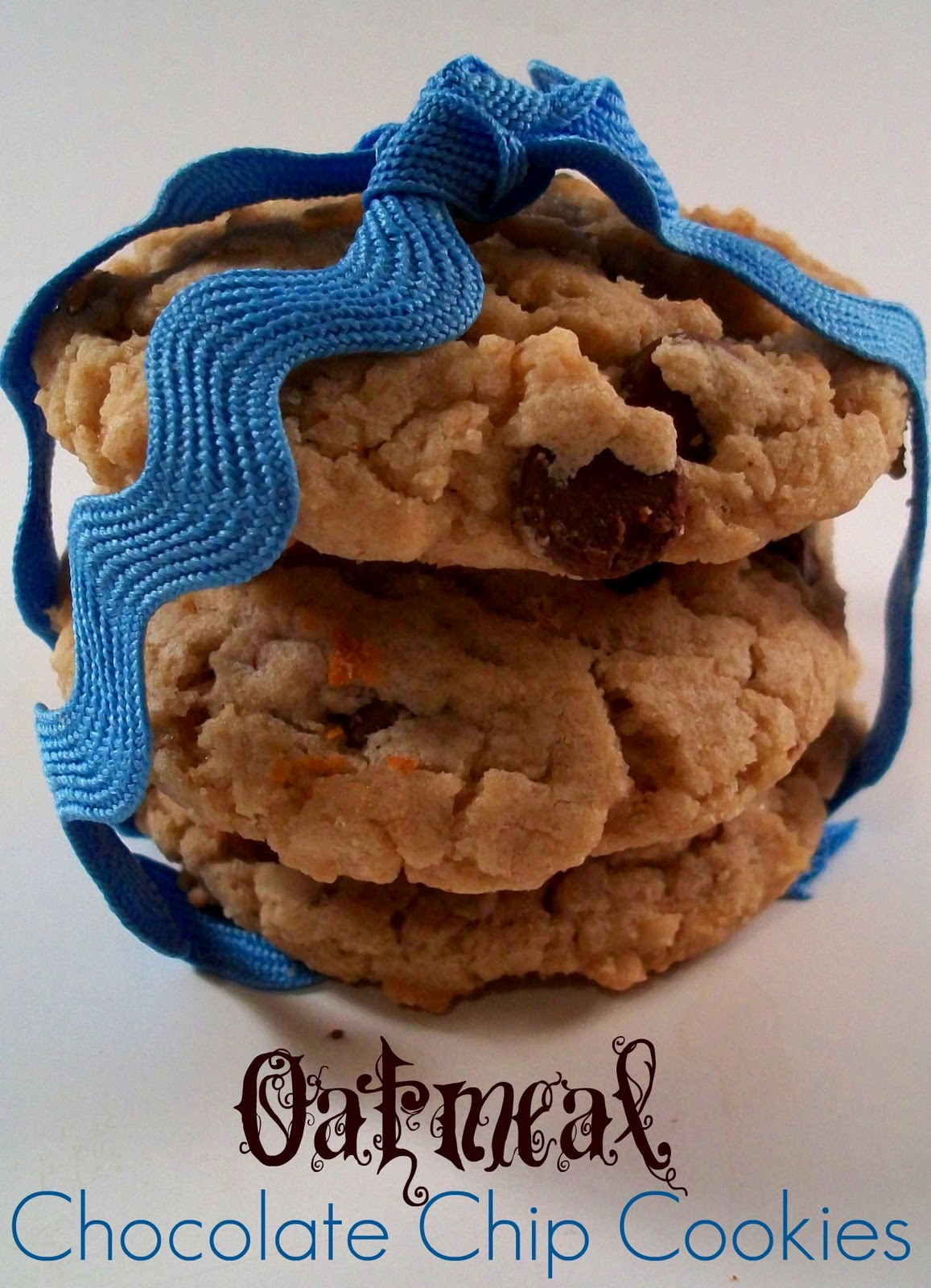 The Farm Girl Recipes: Oatmeal Chocolate Chip Cookies