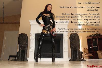 Dressing for pleasure