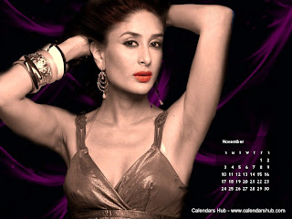 Kareena Kapoor Saif Desktop Wallpaper Calendar November 2013 - Calendarshub.com