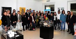 """Artistas y organizadores de la Muestra """"Mujeres por la Historia II"""""""