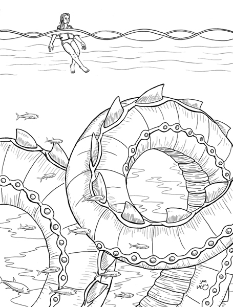 cryptid coloring pages - photo#43