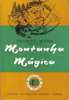 """Livro: """"Montanha Mágica"""" de Thomas Man"""
