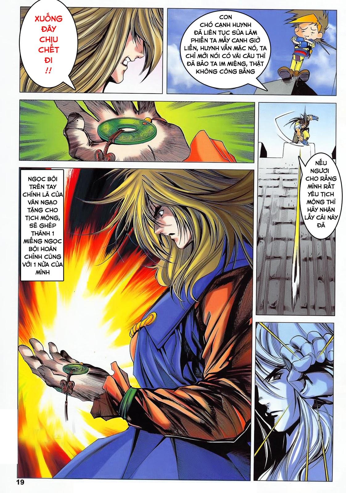 Lục Đạo Thiên Thư chap 36 - Trang 19