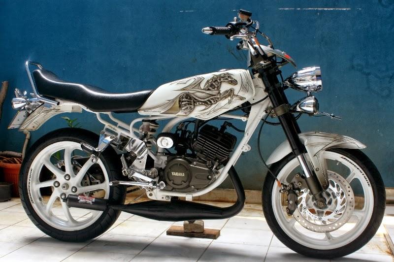 Foto Modifikasi Motor Yamaha Rx-king Terbaru title=