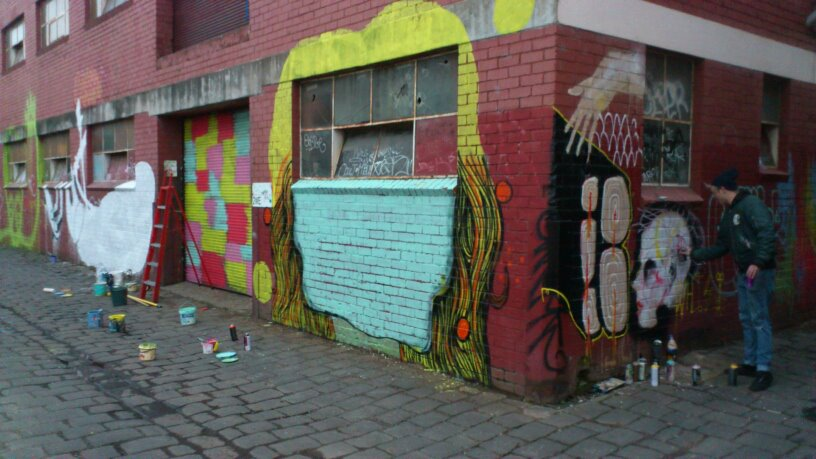 Cocoa Jackson Streetart Melbourne