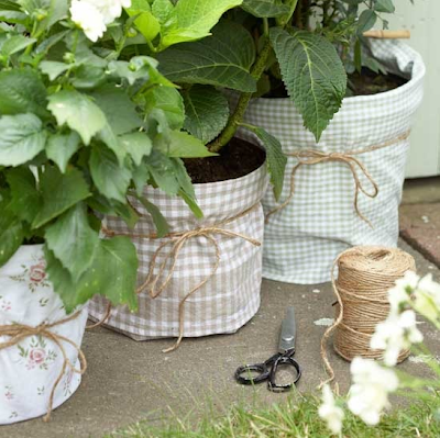Decorative pot covers by Ideal Home