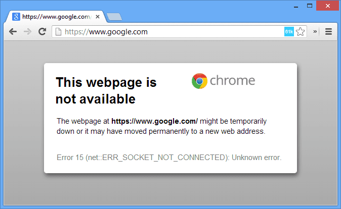 If you lot late switched to Mozilla Firefox because Google Chrome is your fault How to Fix Google Chrome Error (Loading Continues)