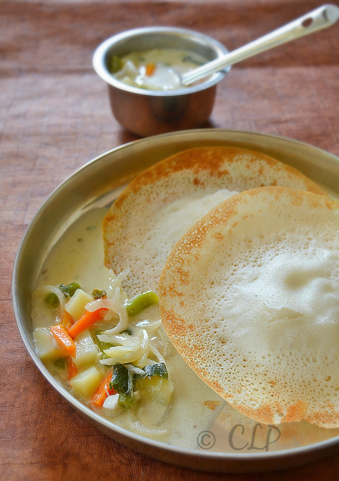 Cook like priya vegetable stew for appam kerala mixed for Appam and chicken stew kerala cuisine