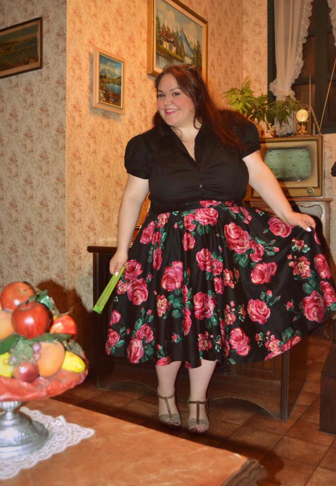 outfit plus size vintage